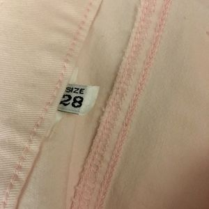 See By Chloe Jeans - See by Chloe Bootcut Jeans Pink Stretch